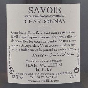 Chardonnay étiquette